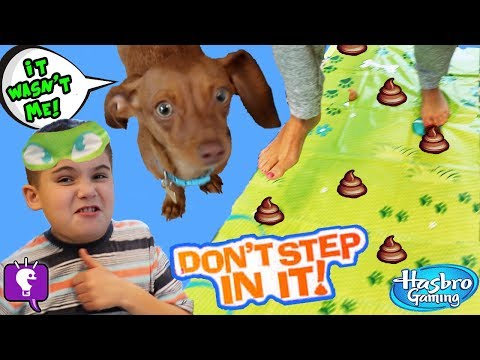 DON'T STEP IN IT! Oopsy on the Mat - Play Doh Game with HobbyKidsTV