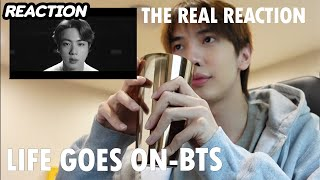 [REACTION] LIFE GOES ON - BTS the real reaction | Zellfie