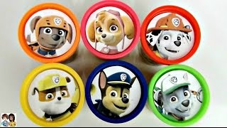 Paw Patrol Play-Doh Lids with Toy Surprises | Toys Unlimited
