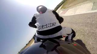 preview picture of video 'ONBOARD Racalmuto 25/05/2014 KaWa Z750'