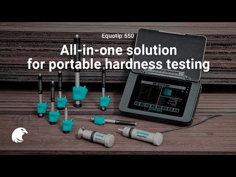 Equotip 550 - The most versatile all-in-one solution for portable hardness testing