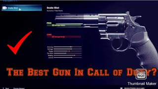 Call of Duty Modern Warfare | How to easily get snakeshot!