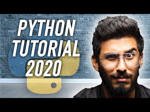 Python Tutorial for Beginners - Full Course in 11 Hours [2020]
