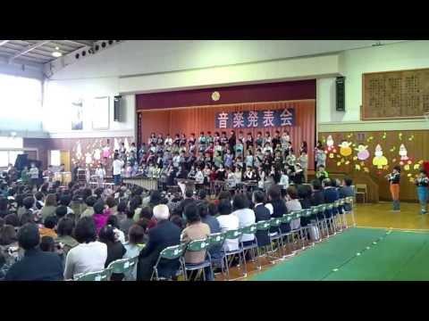 平成25年度山岸小学校音楽発表会