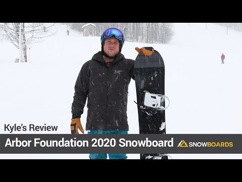 Video: Arbor Foundation Snowboard 2020 13 35