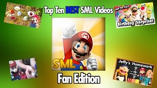 SML One Million Subscriber Special (Part 3) - Top Ten Best SML Videos (Fan Edition)