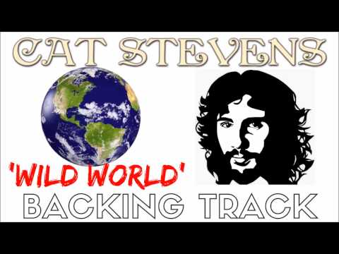Cat Stevens - 'Wild World' [Backing Track] Instrumental