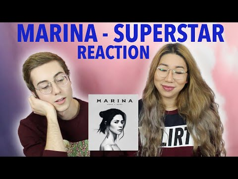 MARINA - Superstar (REACTION!)
