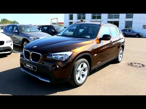 2012 BMW X1. Start Up, Engine, and In Depth Tour.