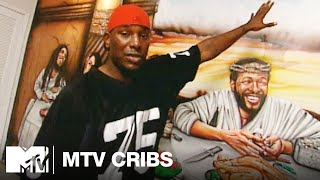 Tyrese's Home Has a 'Last Supper' Mural | MTV Cribs