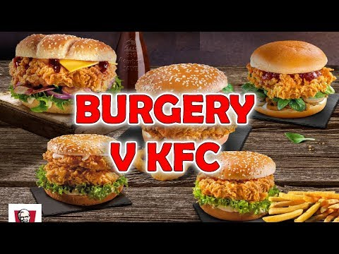 Nové BOURBON a TRUFFLE BURGERY od KFC!