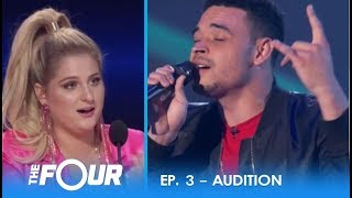 Ebon Lurks: Moving Audition Gets Meghan Trainor EMOTIONAL! | S2E3 | The Four