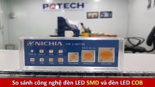 So sánh đèn LED SMD vs đèn LED COB