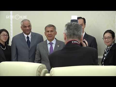 Минниханов: «Сингапур для Татарстана – пример интенсивного развития»