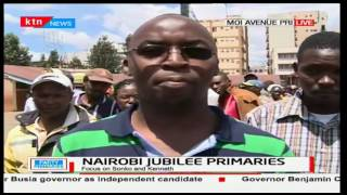 Nairobi residents turn up in large numbers as they humbly line up waiting to cast their votes