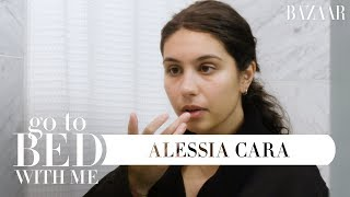 Alessia Cara's Nighttime Skincare Routine   Go To Bed With Me   Harper's BAZAAR