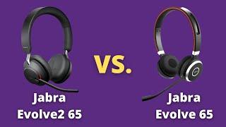 Jabra Evolve2 65 VS Jabra Evolve 65 In Depth Review + Mic Test