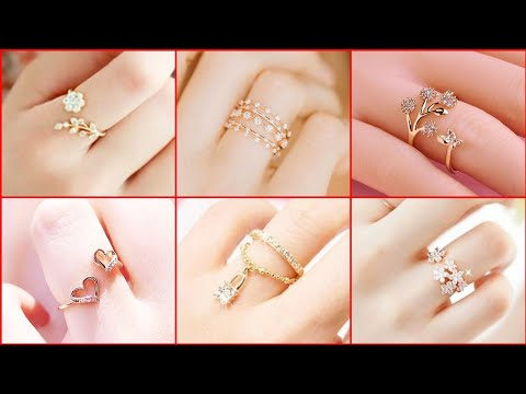 Gold Ring New Designs For Female 2020 Style | Rings | Stylish rings | Jewelry | Fashion Forever