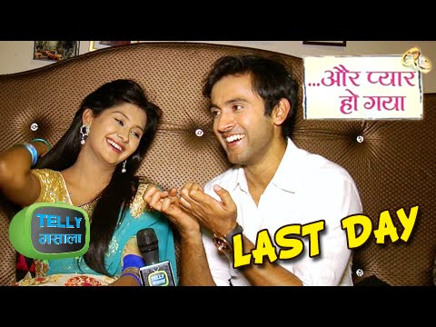 Raj Avni Last Day shoot of Aur Pyaar Ho Gaya |  Zee Tv