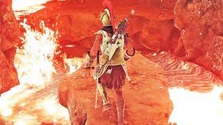 Assassin's Creed Odyssey #29: Eu Abri a Porta Secreta no Vulcão! 😲