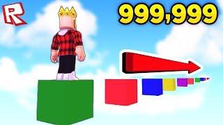 ОББИ ДЛИНОЙ В 999,999,999,999,999,999 ПРЫЖКОВ! СМОЖЕШЬ ДОЙТИ ДО КОНЦА? ROBLOX