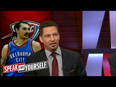 Chris Broussard on Steven Adams play in OKC, LeBron's fit with Lonzo Ball  SPEAK FOR YOURSELF