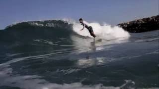 preview picture of video 'Surfing in Ashdod Israel By Yaniv Vaknin'