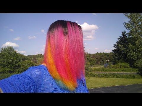 Pan Pride Hair! (With Manic Panic and Arctic Fox)