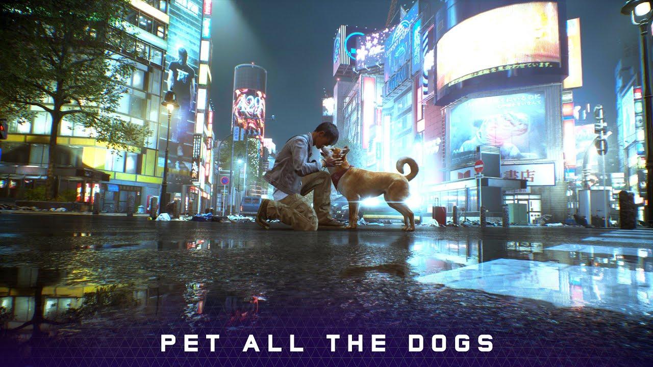 在《鬼線 東京》中,你可以擼每一隻狗,開發商Tango GameWorks在QuakeCon上公開這一消息,本作將於2021年在PS5和PC上推出。 Maxresdefault