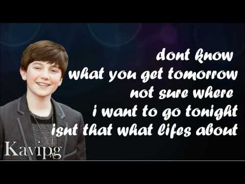 Greyson Chance - Take A Look At Me Now - Lyrics On Screen