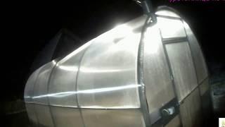 Куротеплица ночью