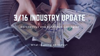 Park Insider News: 3/16 Coronavirus and Economic Contagion Update for Industry