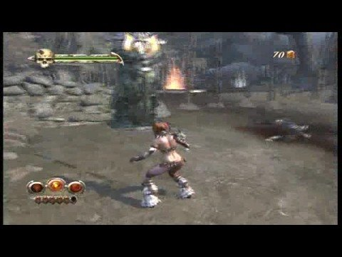 golden axe beast rider xbox 360 gameplay
