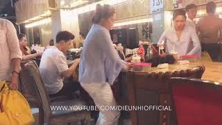 Diệu Nhi_Trong Phòng Makeup Phía Sau Sân Khấu