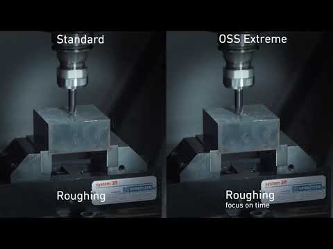 MILL S U Series Speed and high surface quality—combined