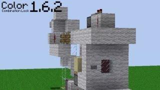 Color Code Combination Lock in Minecraft! [1.6.2]