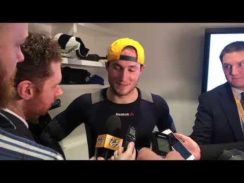 Colton Sissons on his game winning goal