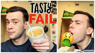 "TASTY ""DORM FOOD"" FAIL"