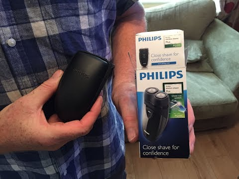 Is a £14 Philips Men's Electric Travel Shaver PQ203 any good?