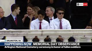 151st national Memorial Day observance at Arlington National Cemetery | ABC News