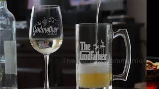 The GodFather Gifts From Godchild - GodParentBaptismGifts