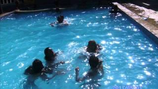 Don Miguelo 7 locas en una piscina jajajajajaj