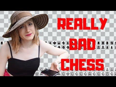 Anna Rudolf plays Really Bad Chess (*not clickbait*)
