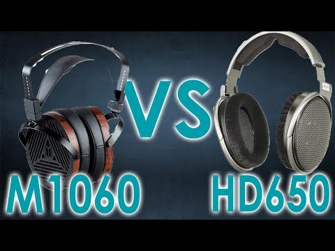 Sennheiser HD650 vs Monoprice M1060 Comparison [$300 Black Friday Shootout]