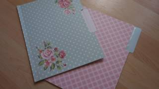 How To • Pocket Letter File Folder FlipBook