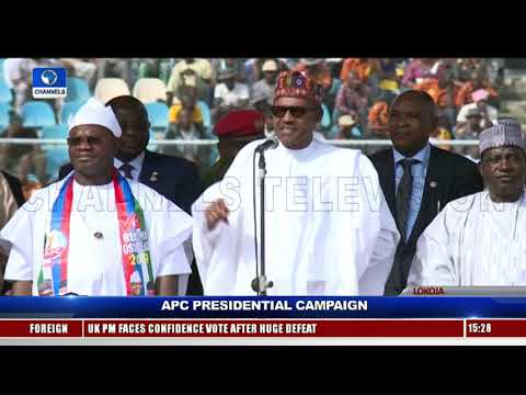 Don't Choose Any PDP Candidate, Buhari Tells Kogi APC Supporters Mp3