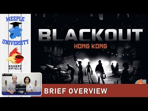 Blackout Hong Kong Board Game – What to Expect, Brief Overview
