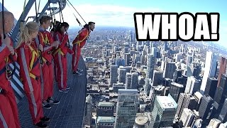 Toronto's CN Tower Edgewalk