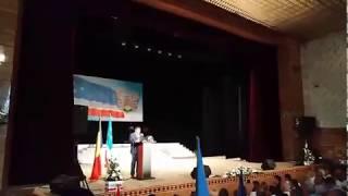 Празднование 28-ой годовщины Гагаузской Республики -  выступление спикера НСГ В. Кысса