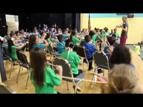 Miami Music Project Doral Chapter Paper Orchestra Graduation